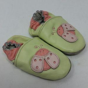 ROBEEZ Ladybug Moccasin Walker Shoes 6-12 Months